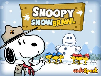 Snoopy Snow Brawl