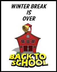 Back to School - January 6th