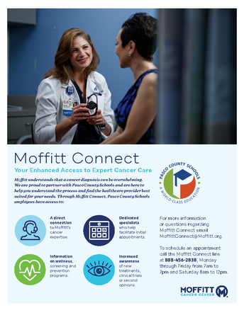 Moffitt Connect - Your Enhanced Access to Expert Cancer Care