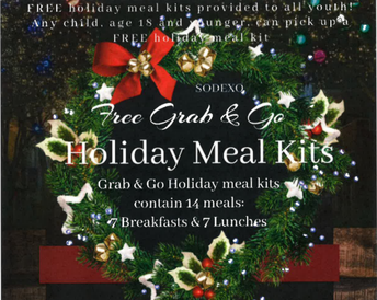 Grab and Go Holiday Meal Kits Over Winter Break