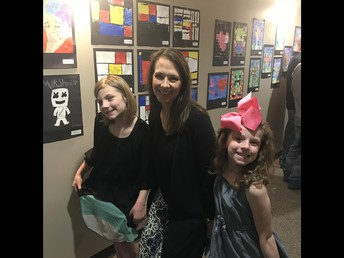 Thank you Ms. Gordon for all your work-Art Fest was a great success!