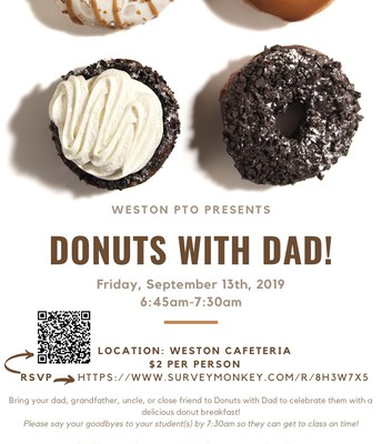Donuts With Dad!