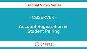 Canvas Account Registration