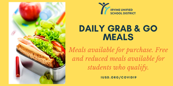 Did you know?  Lunches are available for IUSD students!