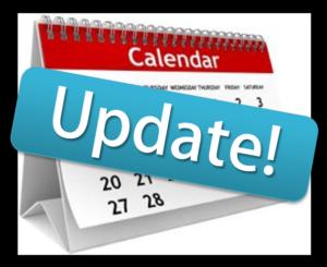 Calendar corrections!