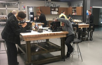 Students Assemble New 3D Printers