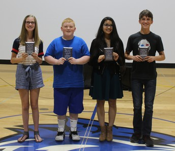 7th Grade Students of the Year