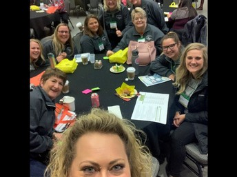 Kids Klub Coordinators participating in the Get Connected After-school Conference in Kearney, NE.