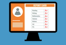 Parents can view student report cards on ParentVue / Padres pueden ver las calificaciones de su estudiante en ParentVue