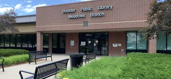 Boulder Public Library - Meadows Branch (4800 Basesline Rd.)