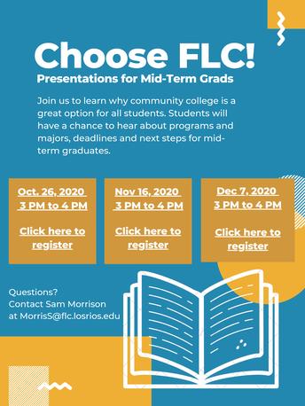 Choose FLC: Information for Mid-term Grads