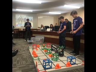 Robotics Impresses the Board