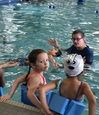 PK4 Learns Swim Safety through Fully Funded Grant