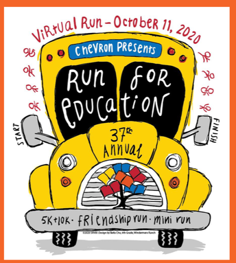 The Run for Education September 12 - October 11