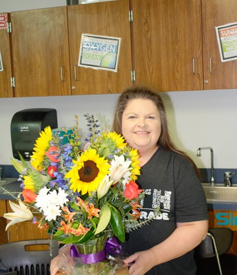 Suzanne Haines, Teacher of the Year