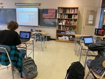 Cold War conversation in 8th grade Social Studies.