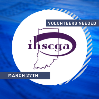 IHSCGA Hosted Event - March 27th - Volunteers NEEDED