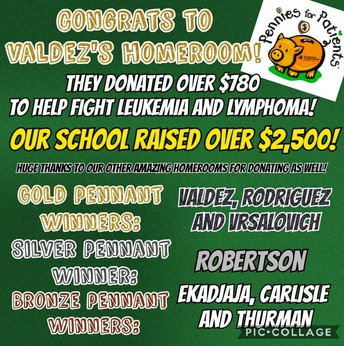 Pennies for Patients Winners
