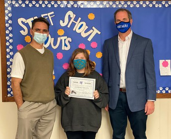 Junior High Panther of the Month