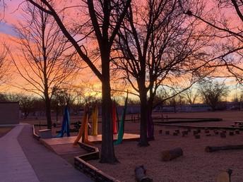 Bullpup Outdoor Classroom Sunrise