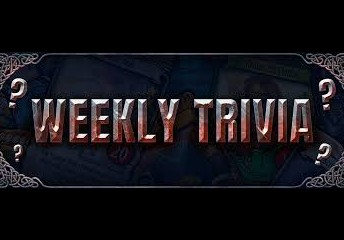 Result - Trivia Question For The Week (6/1)