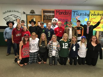 CRHS Famous Person Dress Up Day