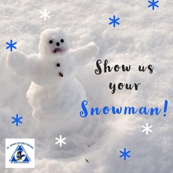 Show Us Your Snowman!