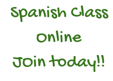 Spanish Online Class - Corrected Flyer Attached