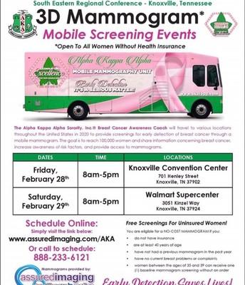 Free Mamograms