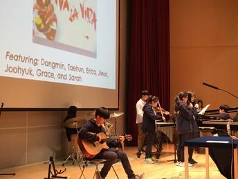 Grade 7 Students Perform Viva La Vida