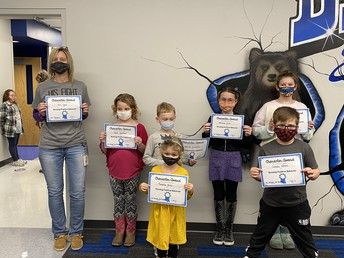 January Student of the Month Awards
