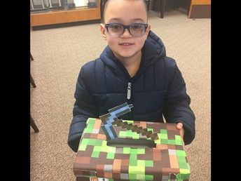 Brandon's Minecraft Valentines Box