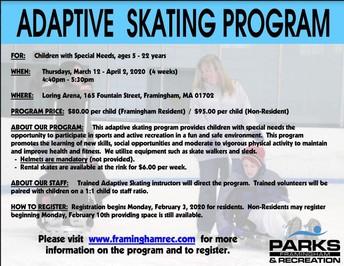 Adaptive Skating Program