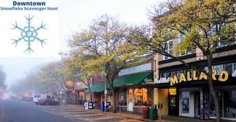 Downtown Snowflake Scavenger Hunt