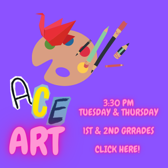 ACE ART! Like to Draw, create and have fun?