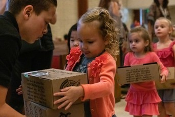 Preschool: Operation Christmas Child, November 20th
