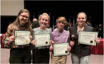 STEM Students Walk Away With Honors