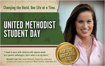 United Methodist Student Sunday