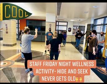 Staff Wellness Challenges!