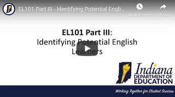 Identifying English Learners