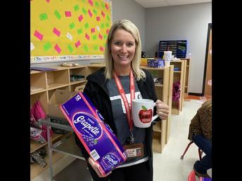 Mrs. Andrews, Prize Winner!