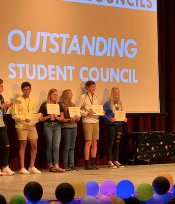 NPHS Outstanding Student Council Recognition
