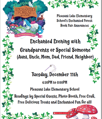 Join us on Tuesday, December 11th for an Enchanted Evening!
