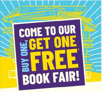 Eagles BOGO Book Fair- May 18-21