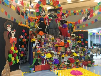Day of the Dead Display and Celebration