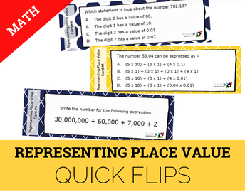 Representing Place Value