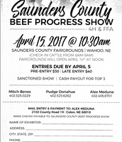 Saunders County Beef Progress Show