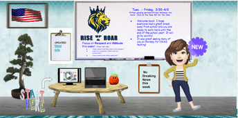 Ms. Norris-Buck's Virtual Announcements