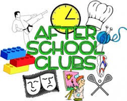 Monday, April 22nd, After School Clubs Begin!