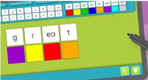 Letter Tile Kit for Distance Learning Lessons- FREE Resource from Really Great Reading